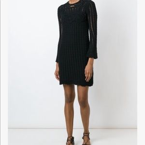 Isabell Marant Open Weave Crochet Dress M